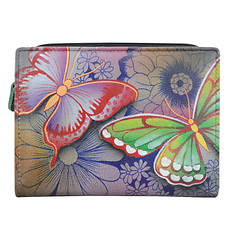 Anna by Anuschka Two-Fold Clutch Wallet