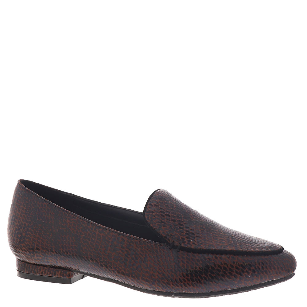 60s Shoes, Boots Beacon Naomi Womens Brown Slip On 8 M $59.95 AT vintagedancer.com