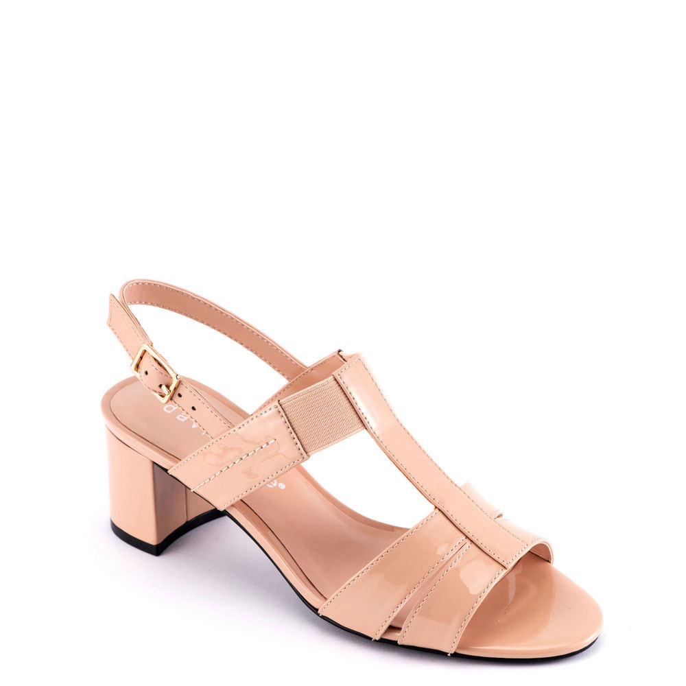 60s Shoes, Boots David Tate Secret Womens Tan Sandal 7.5 N $112.95 AT vintagedancer.com