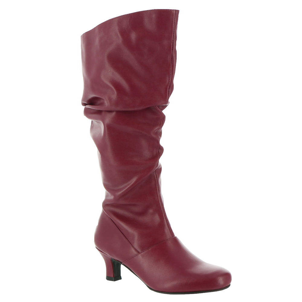 70s Shoes, Platforms, Boots, Heels | 1970s Shoes ARRAY Groovey Womens Red Boot 9 M $175.95 AT vintagedancer.com