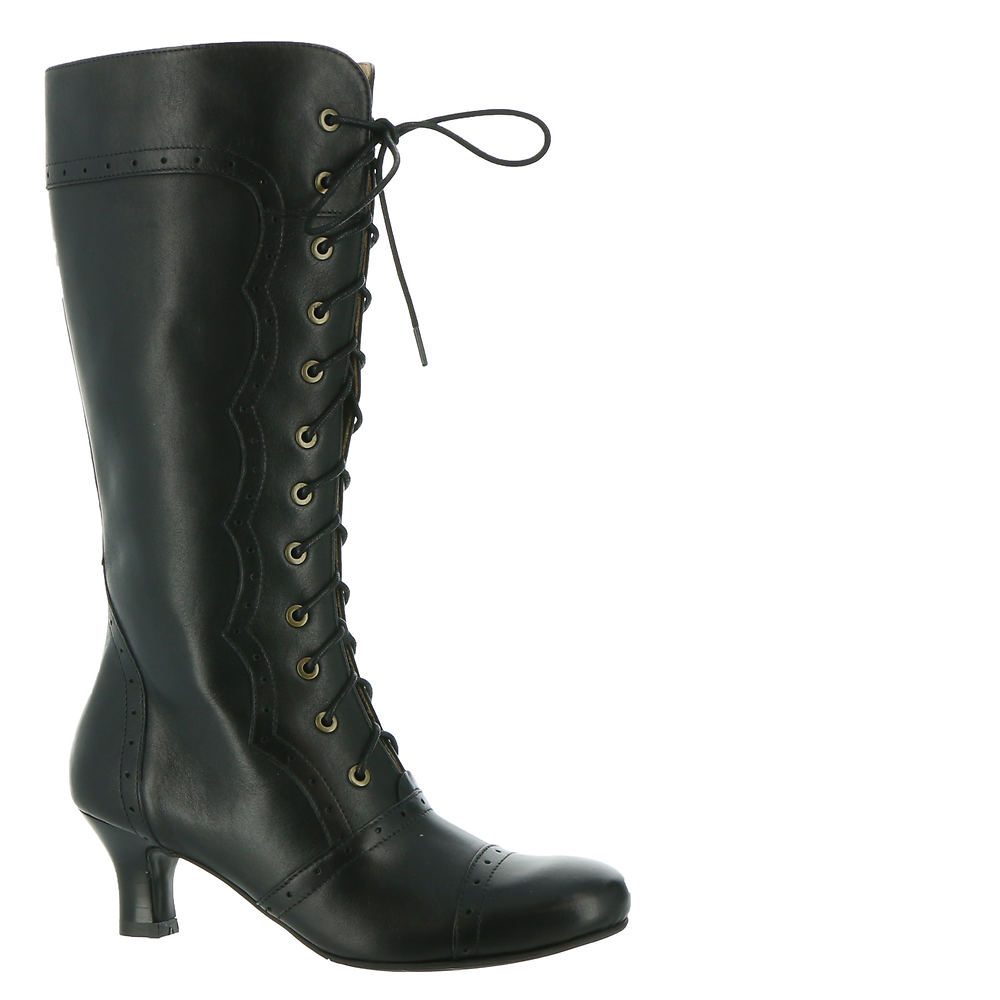 History of Victorian Boots & Shoes for Women ARRAY Vintage Womens Black Boot 10 M $186.95 AT vintagedancer.com