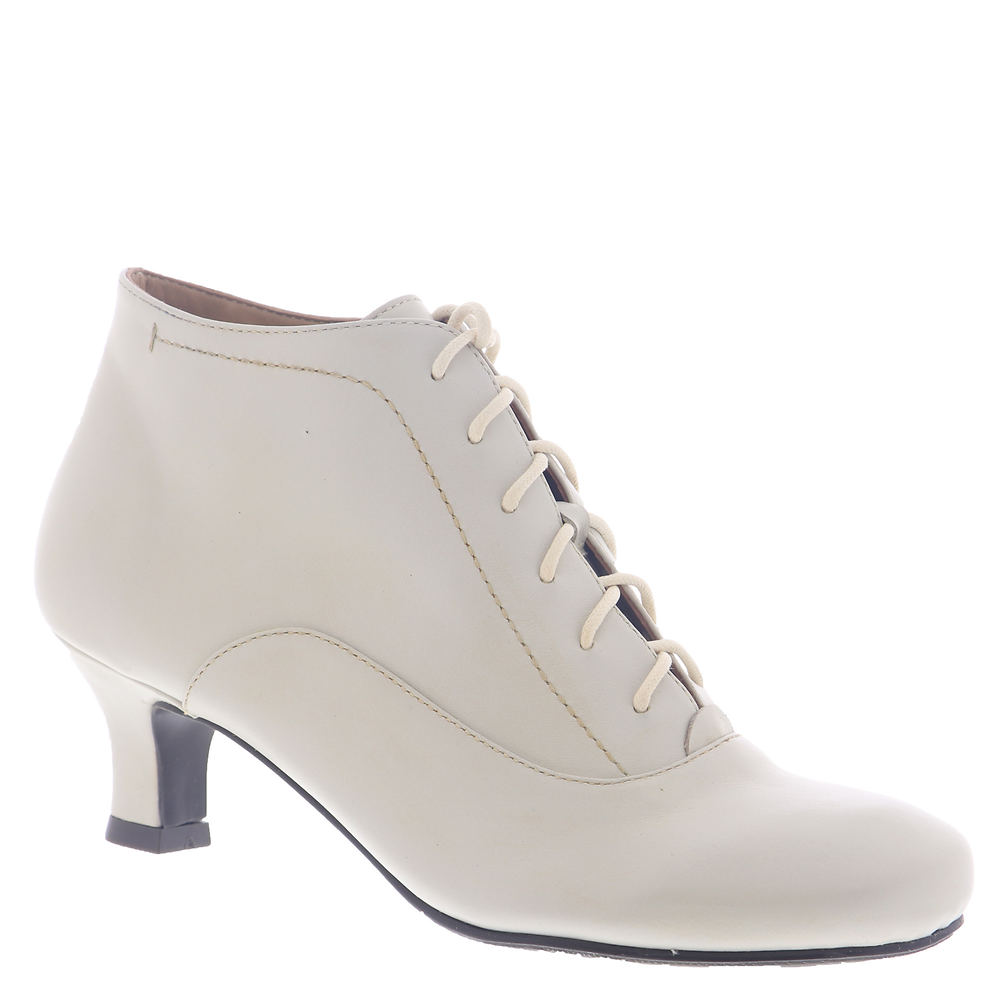 Edwardian Shoes – Styles for Women ARRAY Sam Womens Bone Boot 7 W $119.95 AT vintagedancer.com