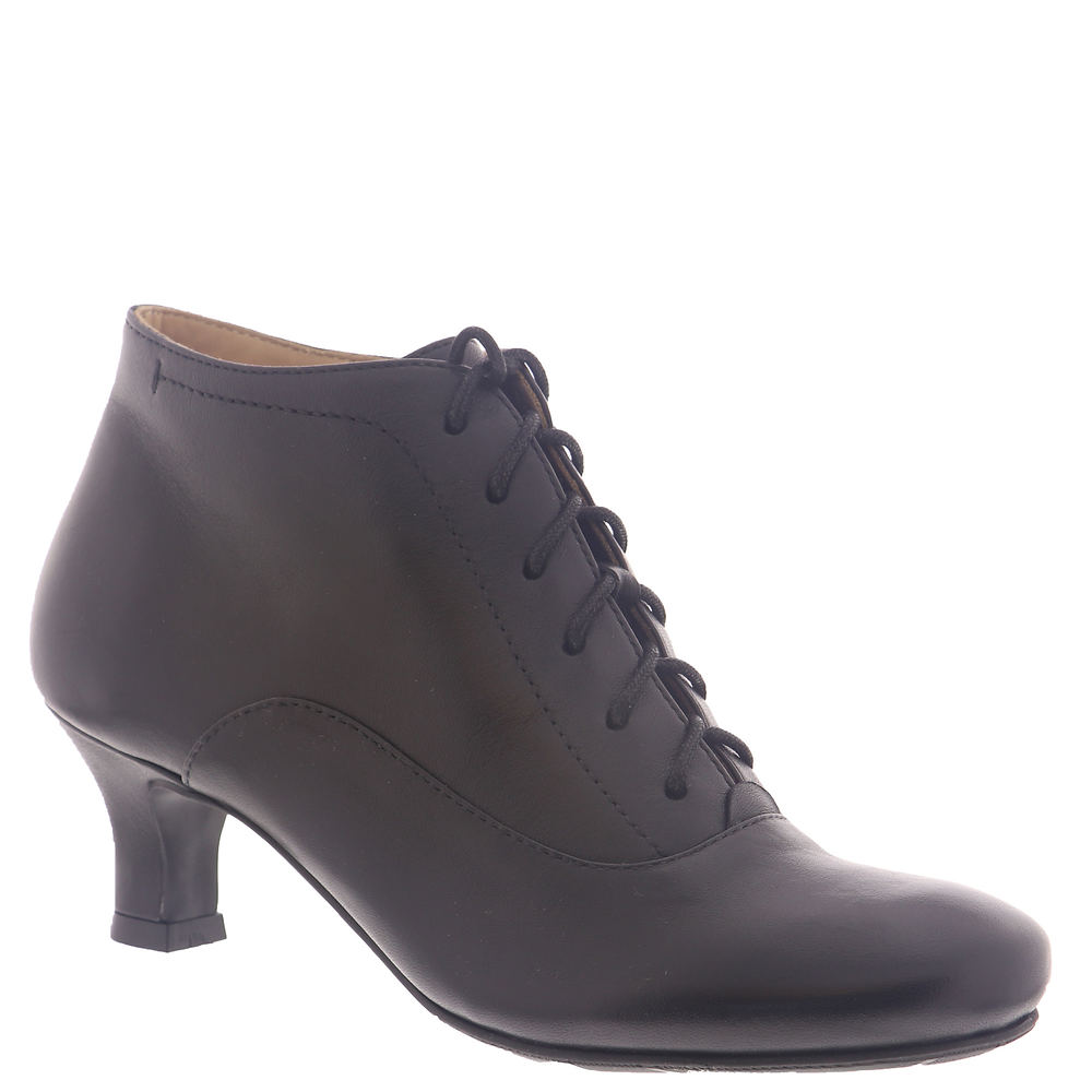 Edwardian Shoes – Styles for Women ARRAY Sam Womens Black Boot 8.5 W $119.95 AT vintagedancer.com