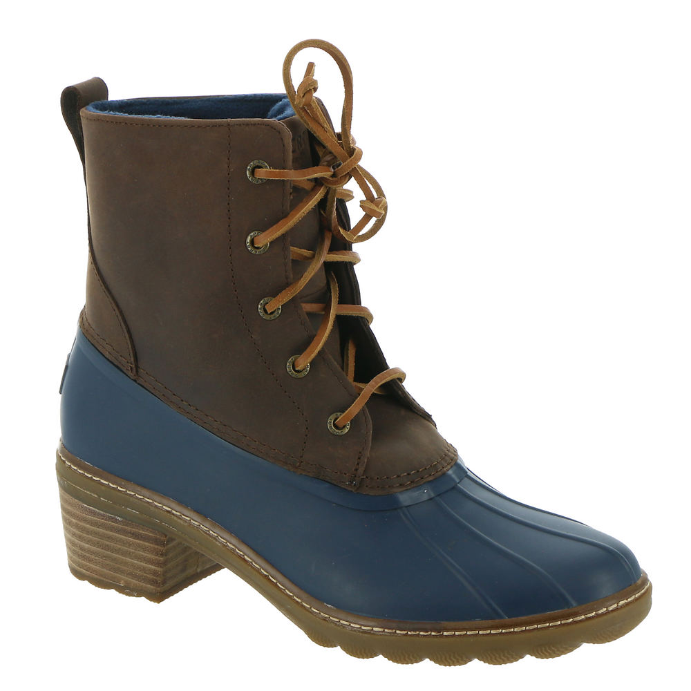 Vintage Winter Retro Boots – Snow, Rain, Cold Sperry Top-Sider Saltwater Heel Fashion Core Womens Brown Boot 11 M $139.95 AT vintagedancer.com
