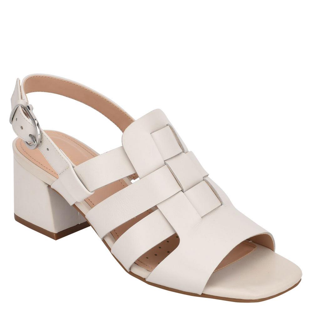 Vintage Sandals | Wedges, Espadrilles – 30s, 40s, 50s, 60s, 70s Evolve By Easy Spirit Mona Womens White Sandal 6.5 M $109.95 AT vintagedancer.com