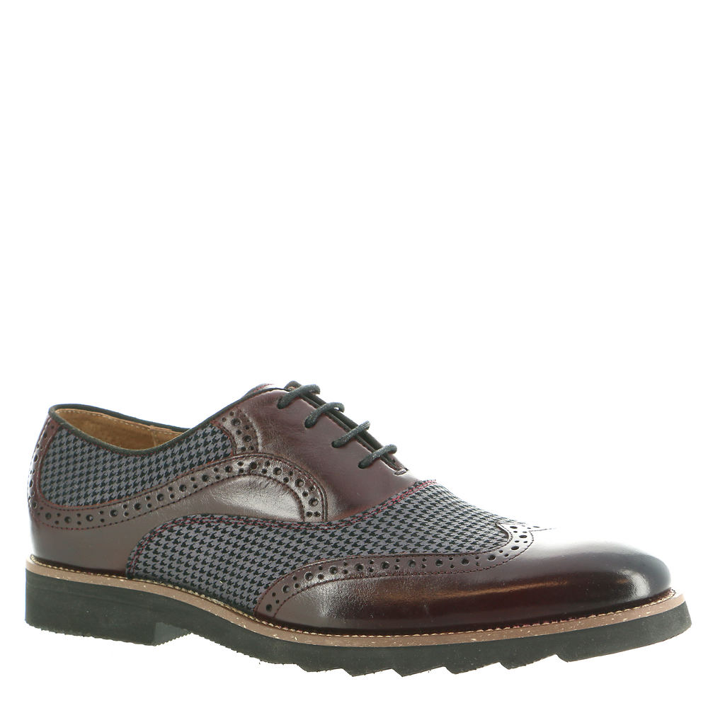 Mens Vintage Shoes, Boots | Retro Shoes & Boots Stacy Adams Callan Mens Burgundy Oxford 11.5 M $114.95 AT vintagedancer.com