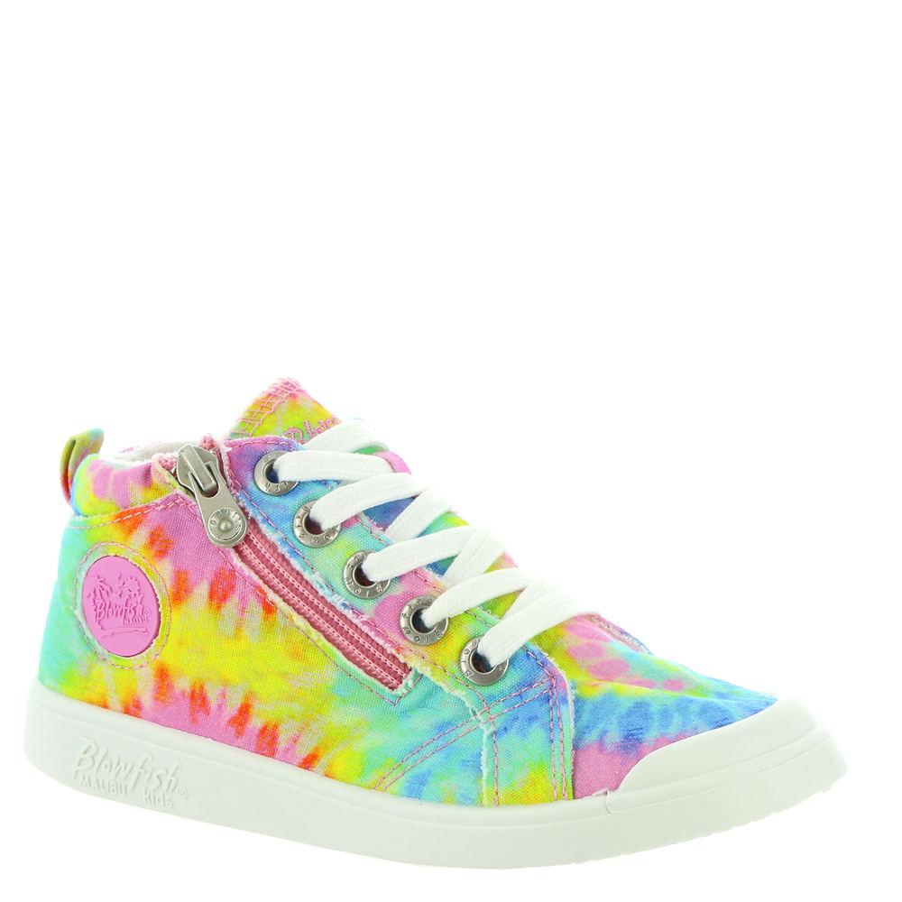 Retro Sneakers, Vintage Tennis Shoes Blowfish Malibu Valetta-K Girls Toddler-Youth Multi Slip On 13 Toddler M $34.95 AT vintagedancer.com