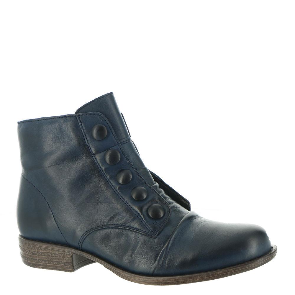Vintage Shoes in Pictures   Shop Vintage Style Shoes Miz Mooz Louise Womens Blue Boot 9.5 M $179.95 AT vintagedancer.com
