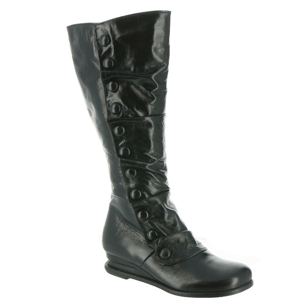 History of Victorian Boots & Shoes for Women Miz Mooz Bobbie Womens Black Boot 11 M $199.95 AT vintagedancer.com