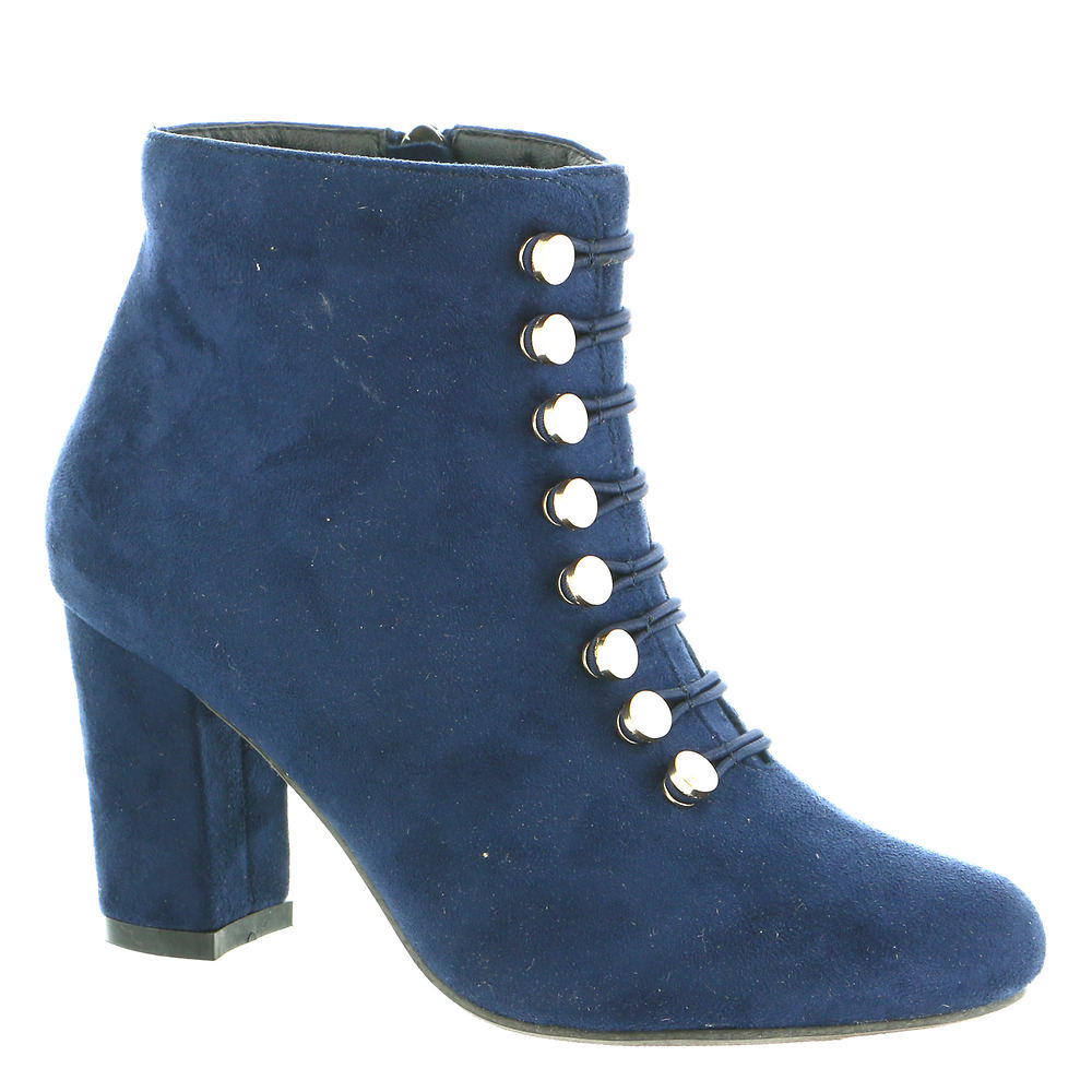 60s Shoes, Boots Beacon Dory Womens Navy Boot 10 W $99.95 AT vintagedancer.com