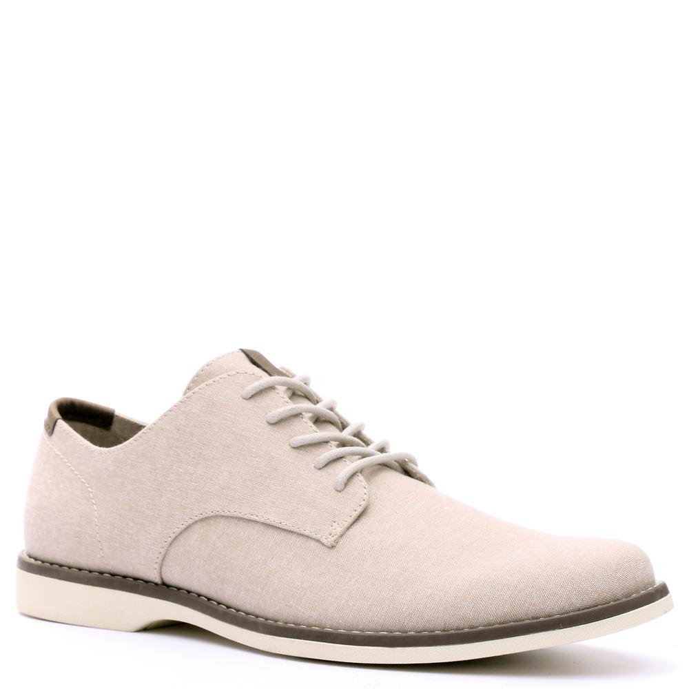 Men's 1950s Shoes Styles- Classics to Saddles to Rockabilly Crevo Buddy Mens Tan Oxford 9.5 M $59.95 AT vintagedancer.com