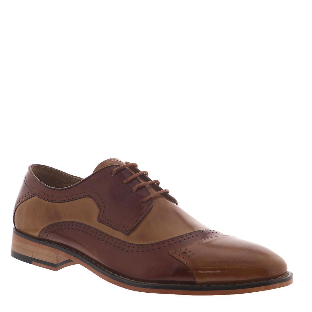 Mens Vintage Shoes, Boots | Retro Shoes & Boots Stacy Adams Paxton Mens Tan Oxford 9 M $129.95 AT vintagedancer.com