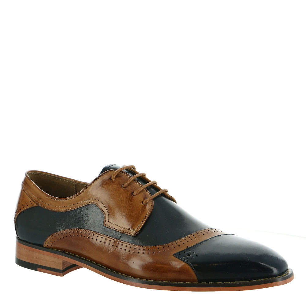 Mens Vintage Shoes, Boots | Retro Shoes & Boots Stacy Adams Paxton Mens Navy Oxford 11.5 M $129.95 AT vintagedancer.com