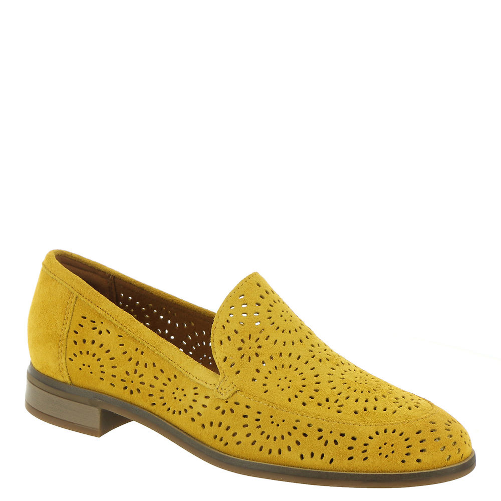 1960s Shoes: 8 Popular Shoe Styles Clarks Trish Calle Womens Yellow Slip On 12 M $79.95 AT vintagedancer.com