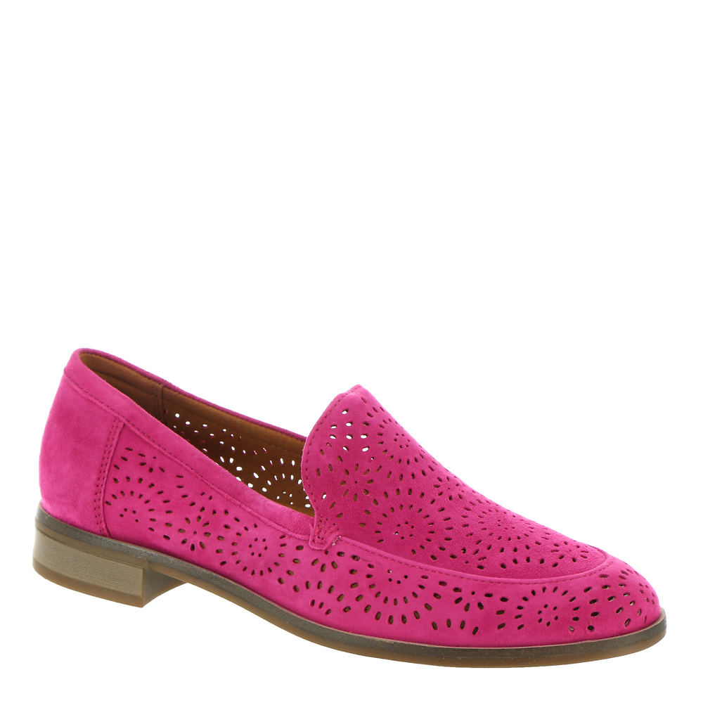 1960s Style Clothing & 60s Fashion Clarks Trish Calle Womens Pink Slip On 7.5 M $79.95 AT vintagedancer.com