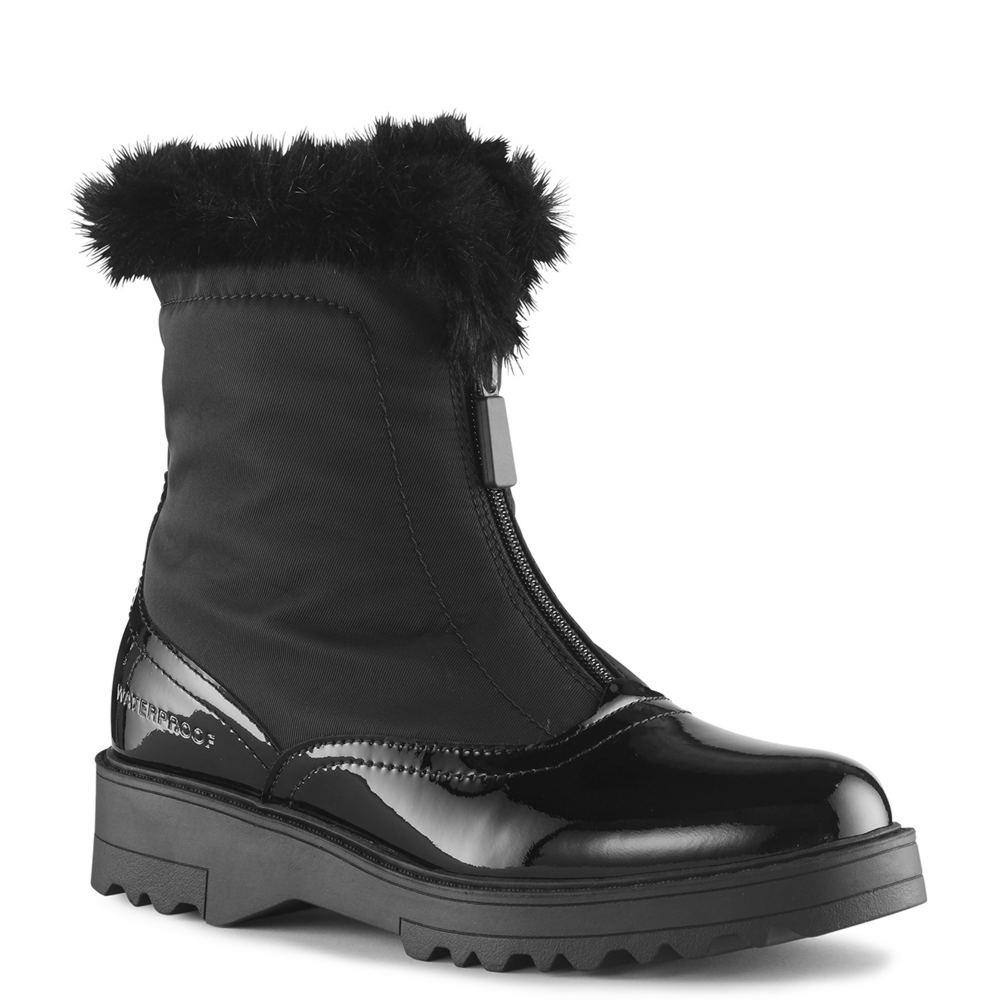 Vintage Boots, Retro Boots Cougar Grandby Womens Black Boot 8 M $159.95 AT vintagedancer.com