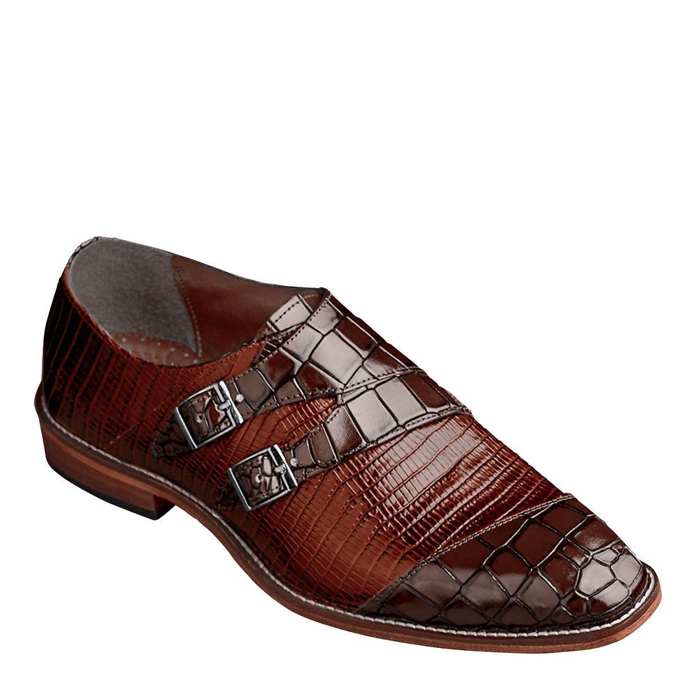 Mens Vintage Shoes, Boots | Retro Shoes & Boots Stacy Adams Toscano Mens Brown Slip On 12 M $99.95 AT vintagedancer.com