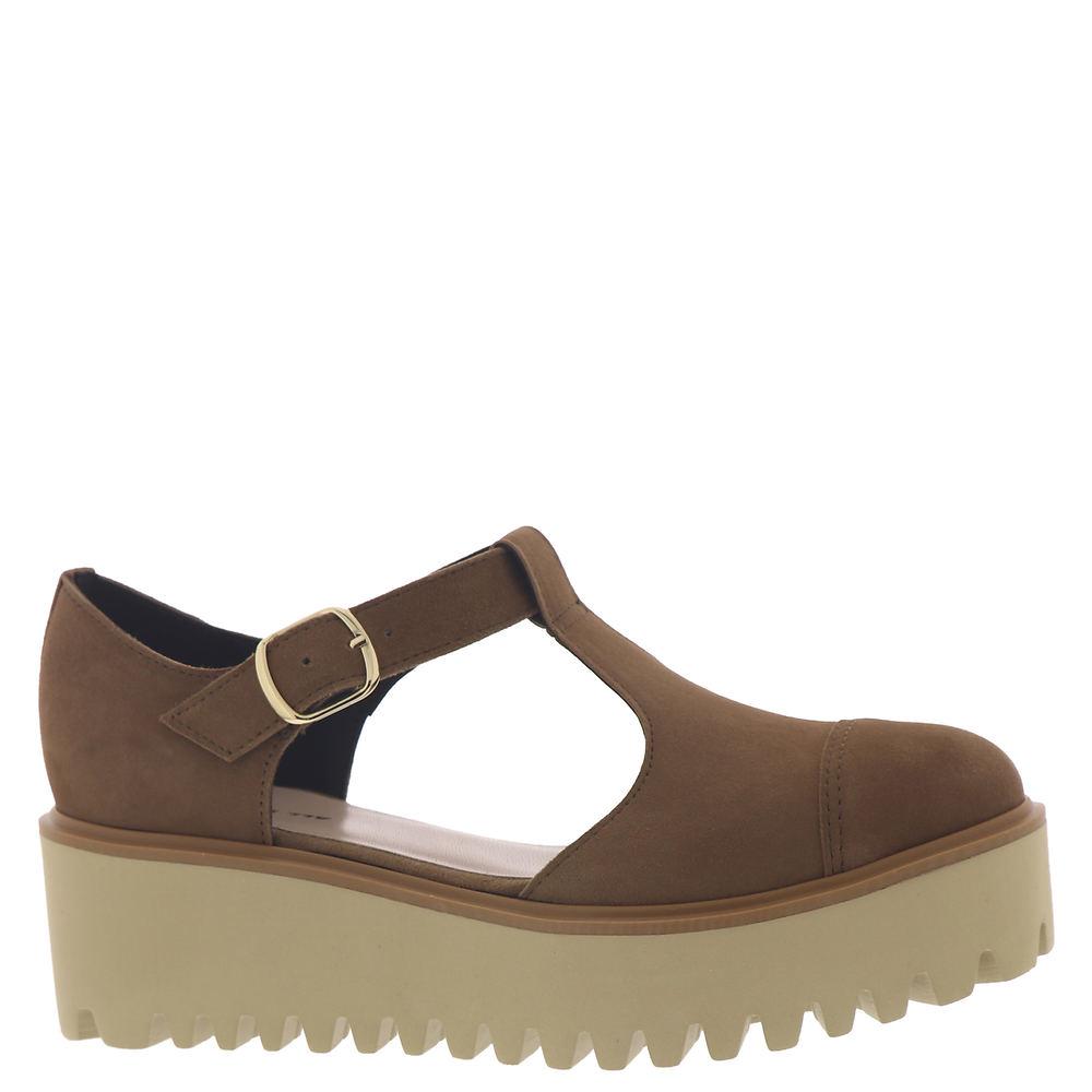 70s Clothes   Hippie Clothes & Outfits ALL BLACK Flatform Sandal Ox II Womens Tan Sandal Euro 39 US 8.5 M $165.95 AT vintagedancer.com