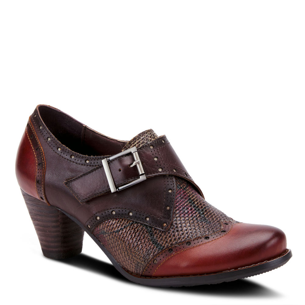 Women's Oxford Shoes – Vintage 1920s, 1930s, 1940s Heels Spring Step L Artiste Therise Womens Brown Boot Euro 39 US 8.5 M $119.95 AT vintagedancer.com