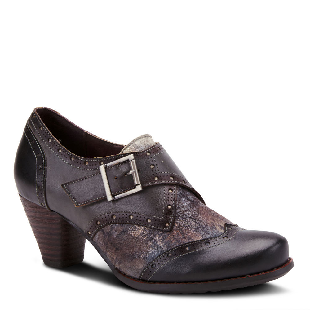 History of Victorian Boots & Shoes for Women Spring Step L Artiste Therise Womens Black Boot Euro 42 US 10.5 - 11 M $119.95 AT vintagedancer.com