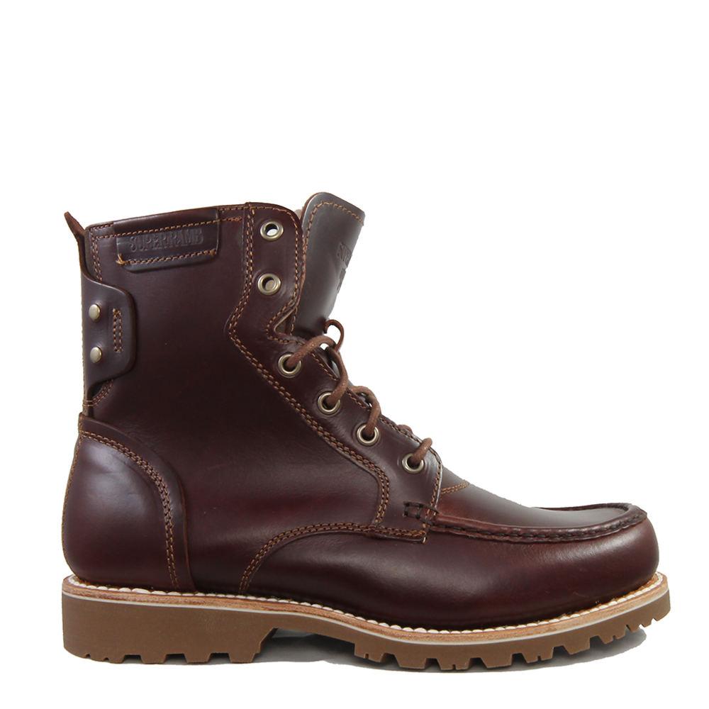 1930s Men's Clothing SuperLamb Ibex Boot Mens Brown Boot 12 E3 $199.95 AT vintagedancer.com