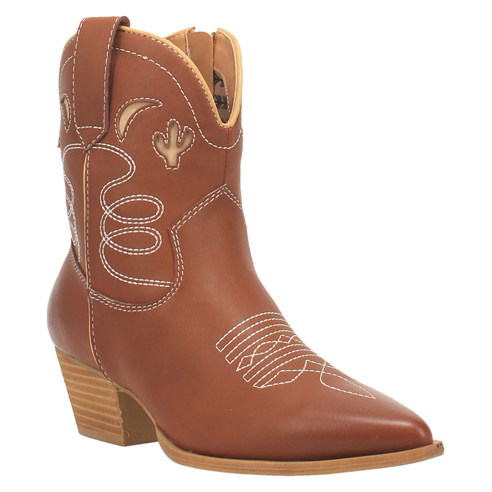 Vintage Western Wear Clothing, Outfit Ideas Code West Agave Womens Brown Boot 9.5 M $84.95 AT vintagedancer.com