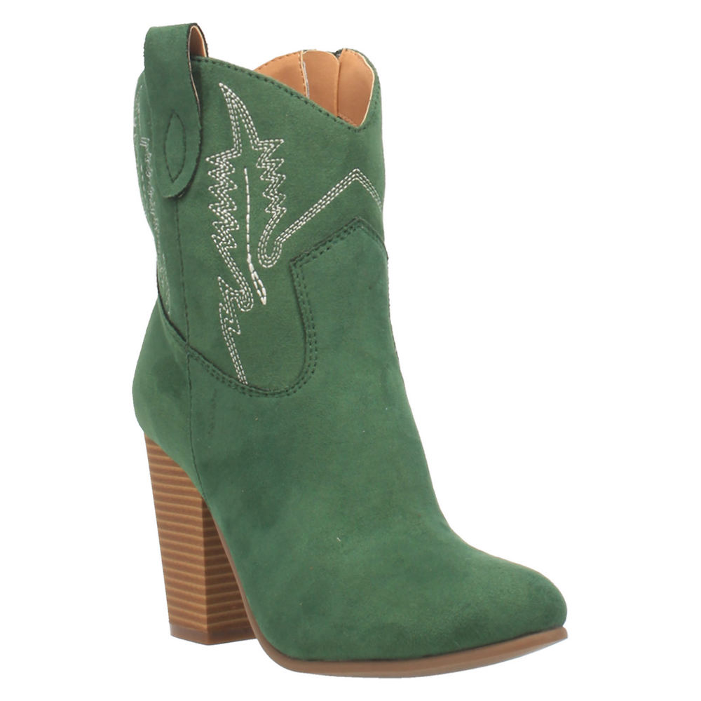 Vintage Western Wear Clothing, Outfit Ideas Code West Slayer Womens Green Boot 6 M $74.95 AT vintagedancer.com