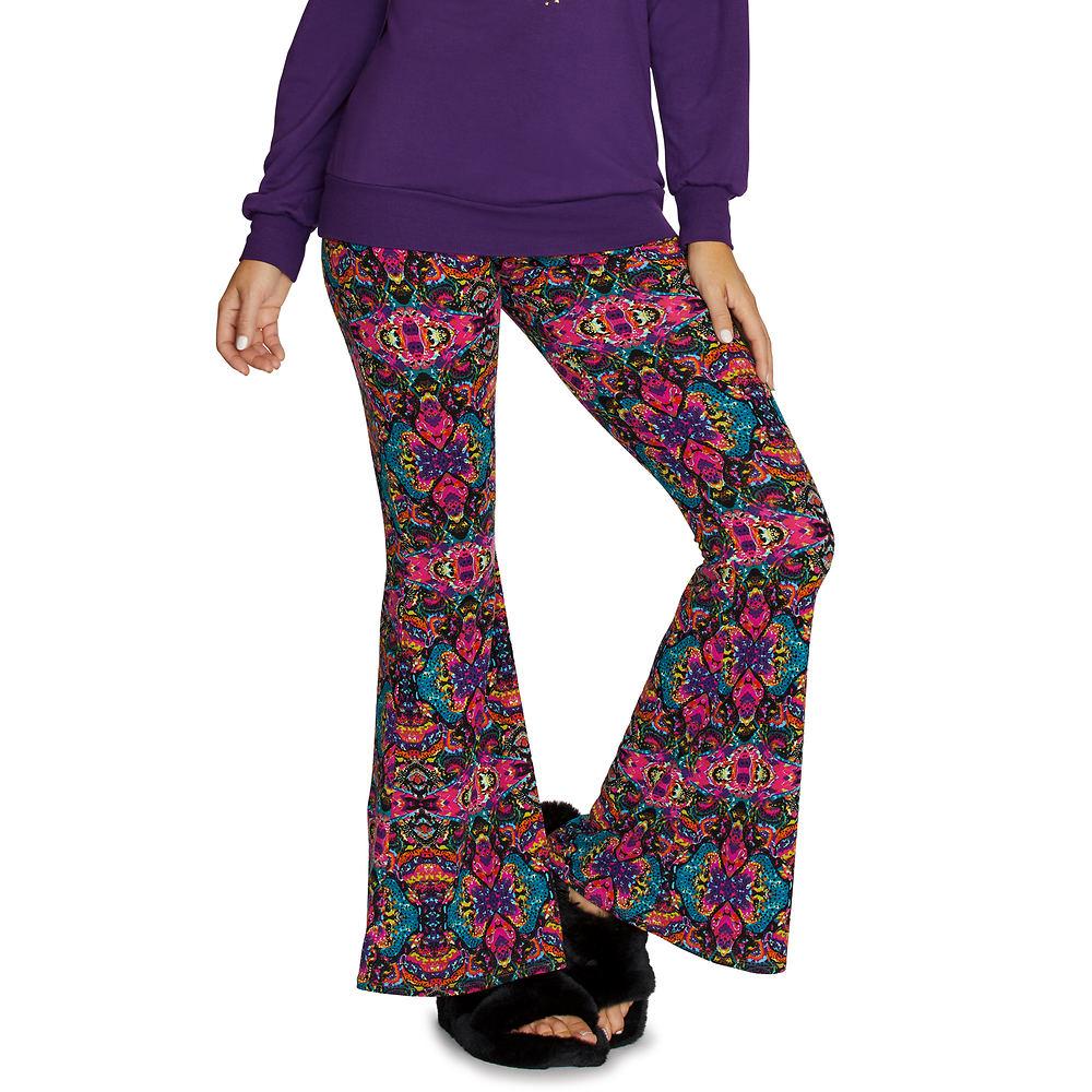 1960s Style Clothing & 60s Fashion Super-Soft Flare Pant Multi Pants 5X-Regular $29.95 AT vintagedancer.com