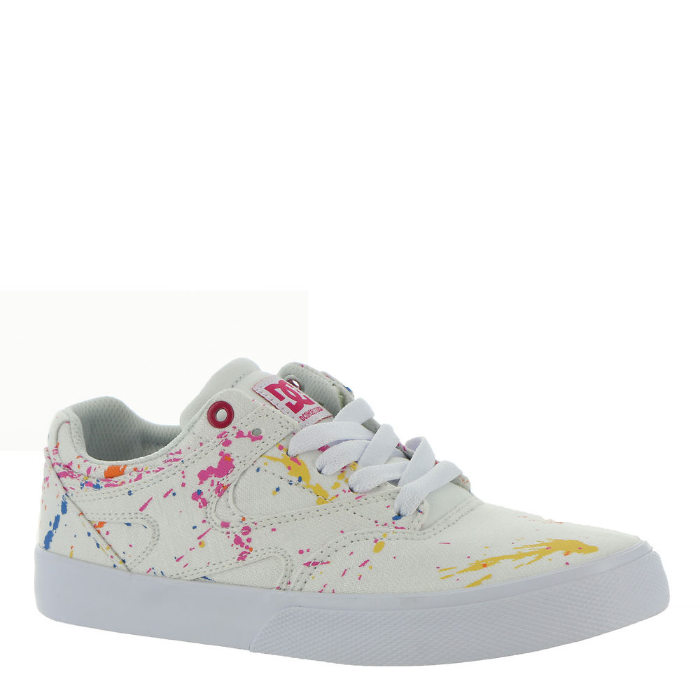 Vintage Sneakers, Retro Designs for Women DC Kalis Vulc Womens White Skate 10 M $55.00 AT vintagedancer.com
