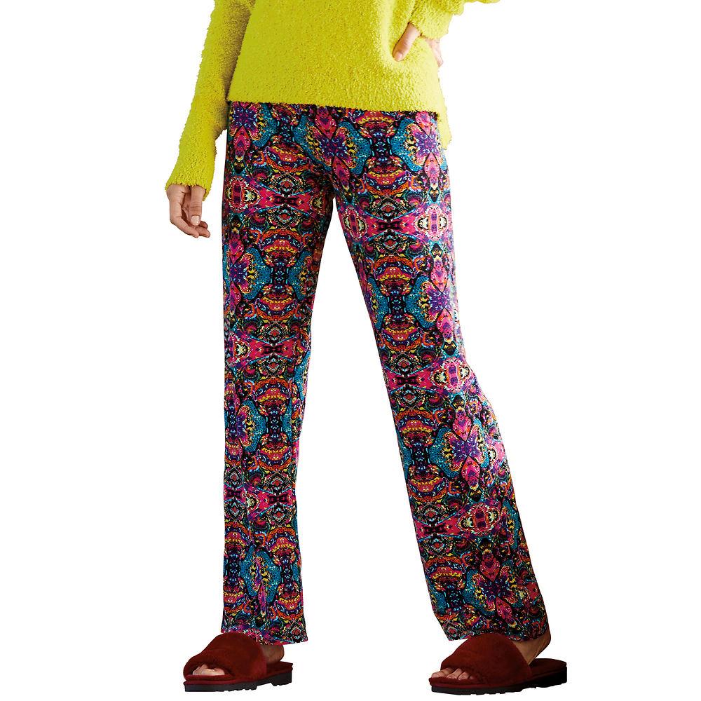 1960s Style Clothing & 60s Fashion Super-Soft Wide-Leg Pant Multi Pants 4X-Regular $29.95 AT vintagedancer.com