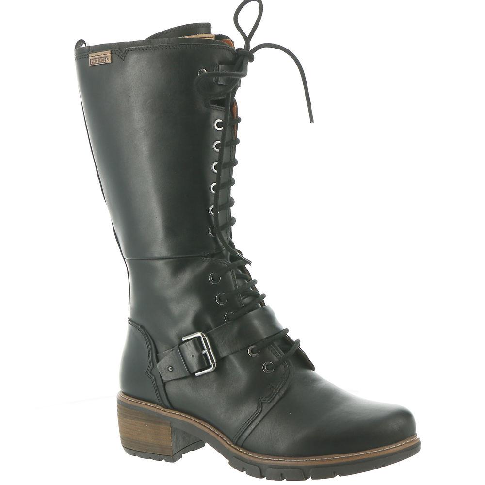 Steampunk Boots & Shoes, Heels & Flats Pikolinos San Sebastian W1T-9624ST Womens Black Boot Euro 39 US 8.5 - 9 M $289.95 AT vintagedancer.com