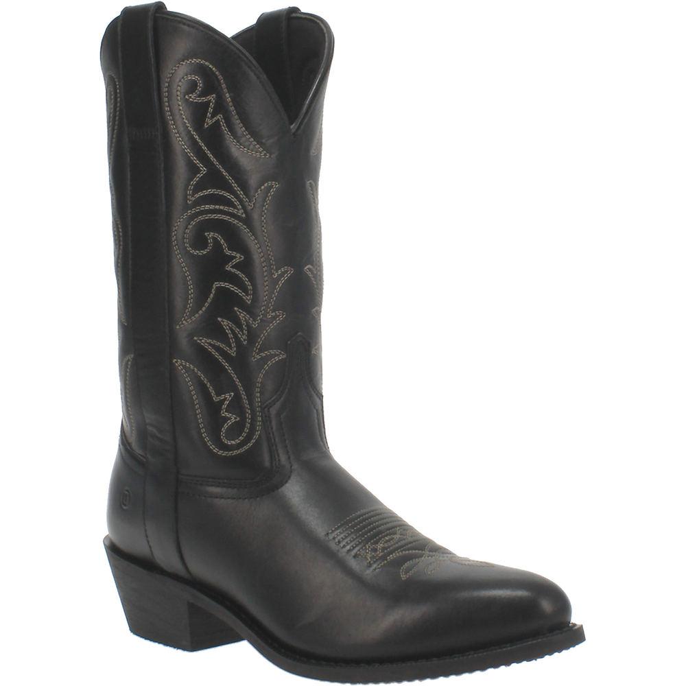 Vintage Western Wear Clothing, Outfit Ideas Dingo Canyon Mens Black Boot 12 D $144.95 AT vintagedancer.com