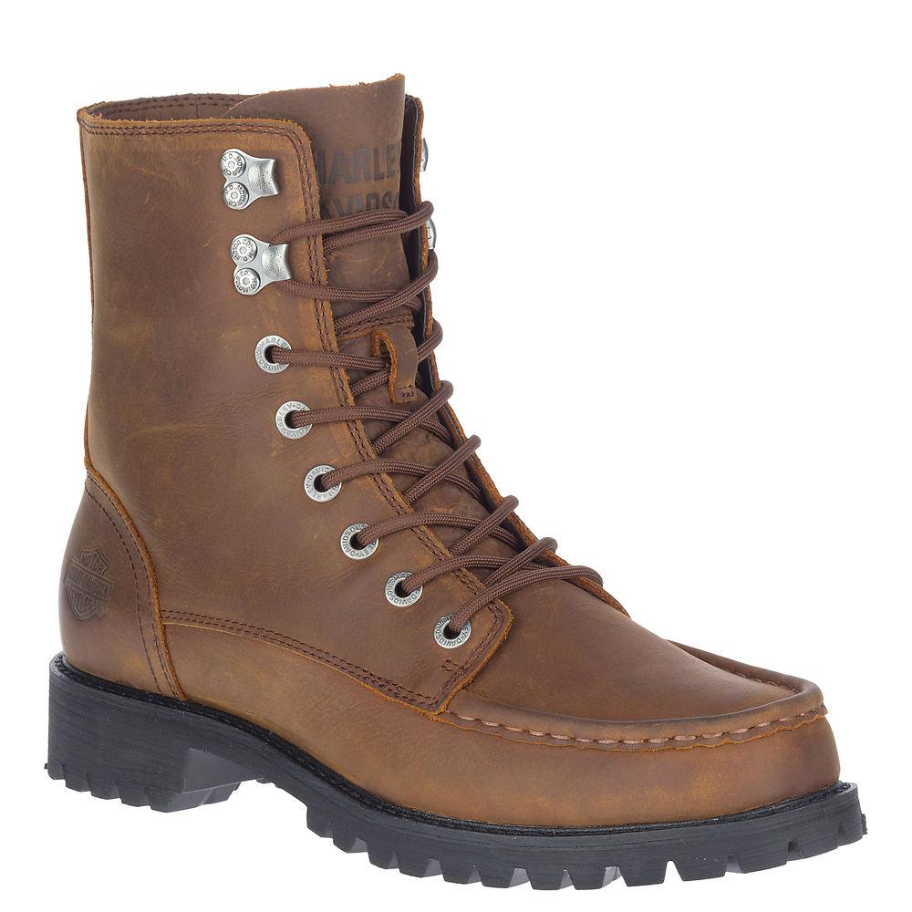 Men's Vintage Workwear Inspired Clothing Harley-Davidson Brentmoore 7 Lace Mens Brown Boot 11 M $189.95 AT vintagedancer.com