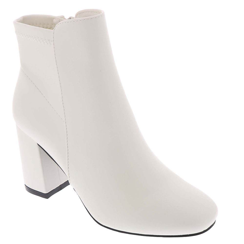 70s Shoes, Platforms, Boots, Heels | 1970s Shoes MIA Carla Womens White Boot 10 M $69.95 AT vintagedancer.com