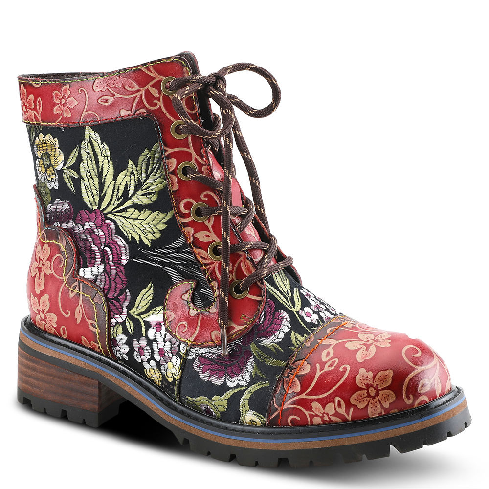 History of Victorian Boots & Shoes for Women Spring Step LArtiste Fantastic Womens Red Boot Euro 41 US 9.5 - 10 M $139.95 AT vintagedancer.com