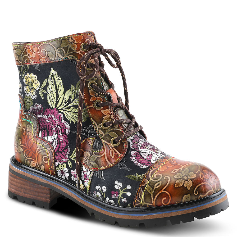History of Victorian Boots & Shoes for Women Spring Step LArtiste Fantastic Womens Brown Boot Euro 41 US 9.5 - 10 M $139.95 AT vintagedancer.com
