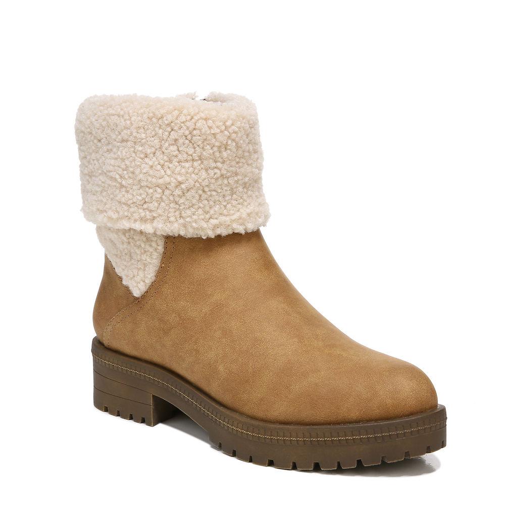 70s Shoes, Platforms, Boots, Heels | 1970s Shoes Life Stride Simone Womens Tan Boot 10 M $99.99 AT vintagedancer.com