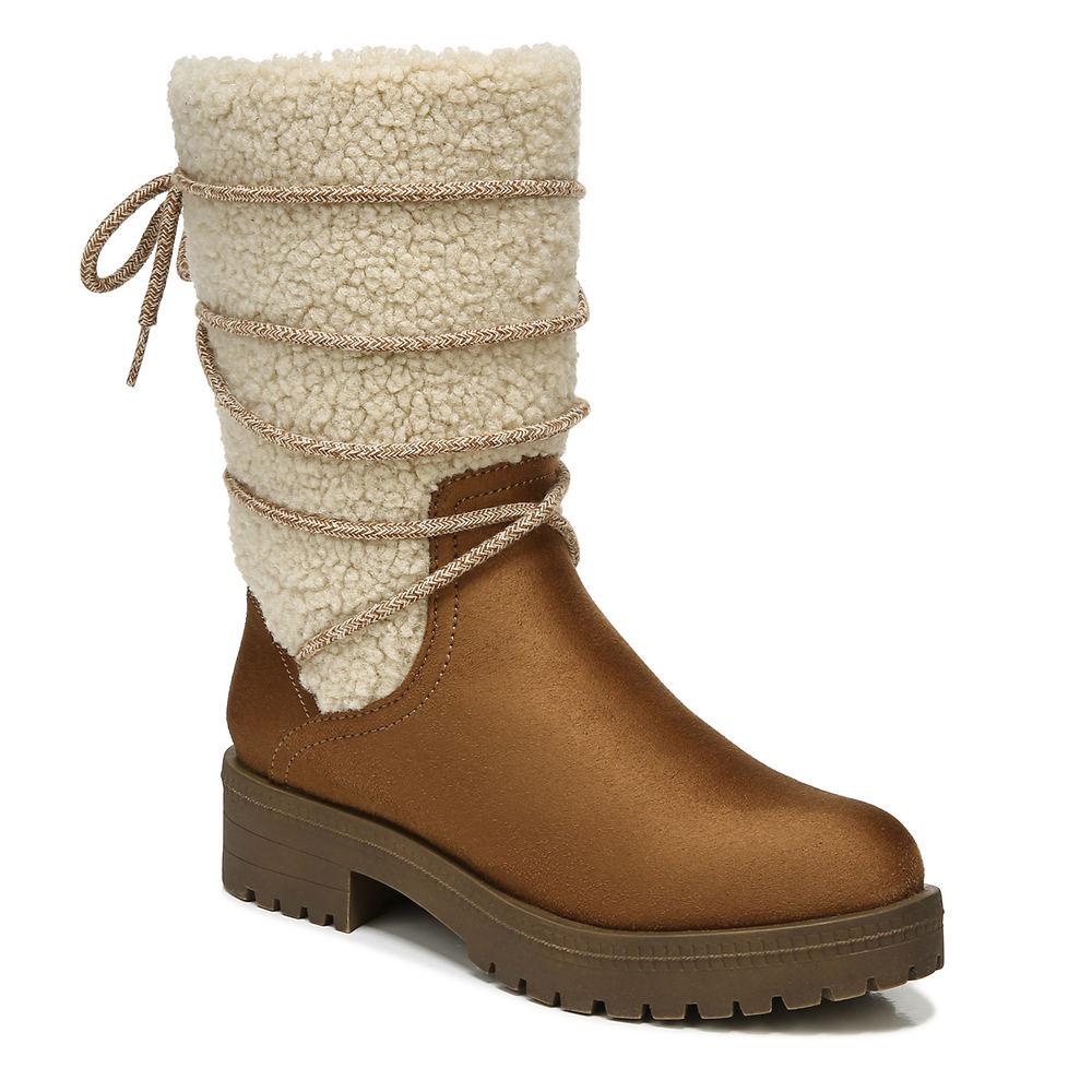 Vintage Winter Retro Boots – Snow, Rain, Cold Life Stride Saratoga Womens Brown Boot 6.5 W $109.95 AT vintagedancer.com