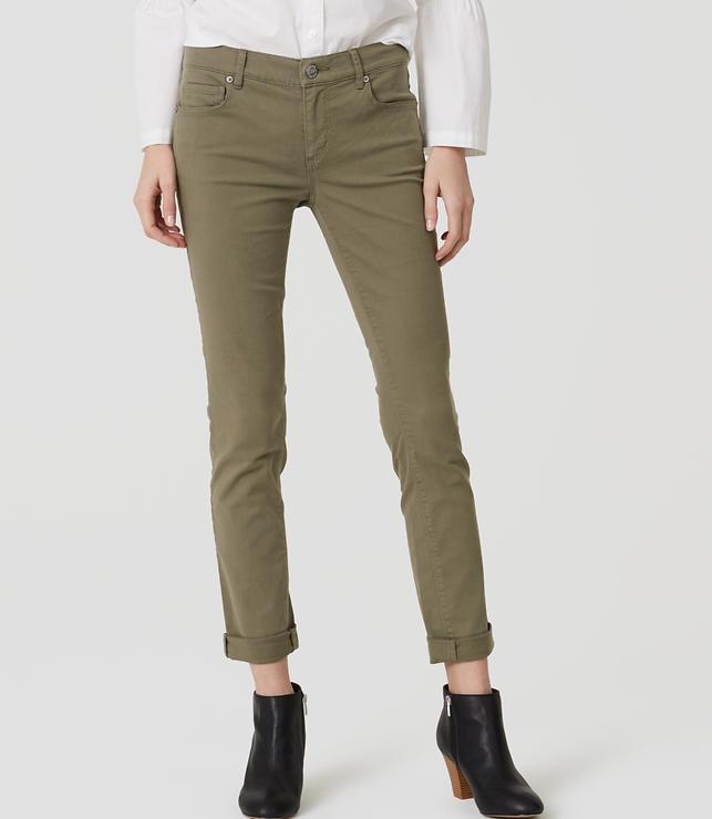 Modern Skinny Crop Jeans | LOFT