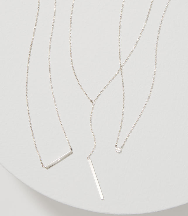 Primary Image of Layered Lariat Necklace