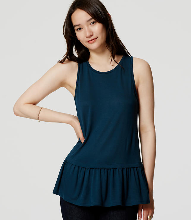 Primary Image of Peplum Tank