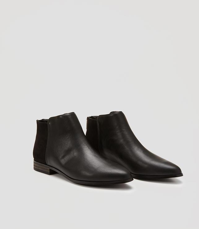 Flat Zip Ankle Boots | LOFT