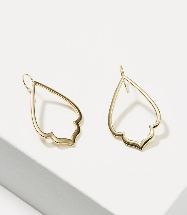 Primary Image of Outline Chandelier Earrings