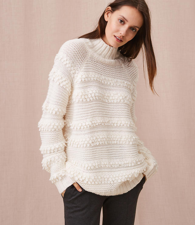 Color Swatch 8860Lou & Grey Snowbird Sweater