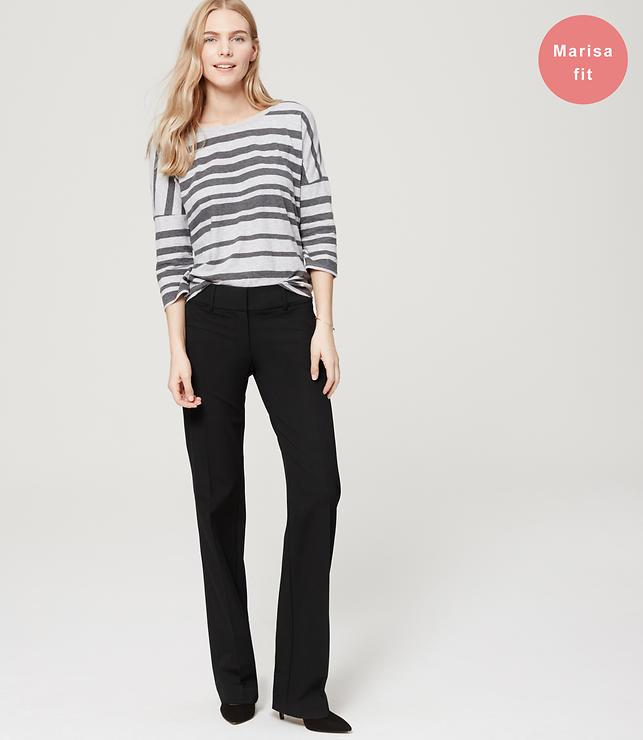 Trousers in Custom Stretch in Marisa Fit