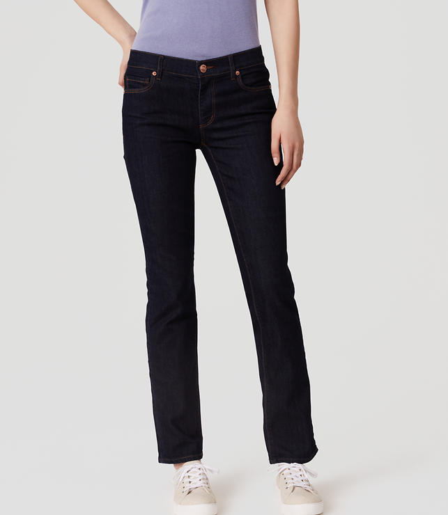 Tall Curvy Skinny Jeans in Dark Rinse Wash