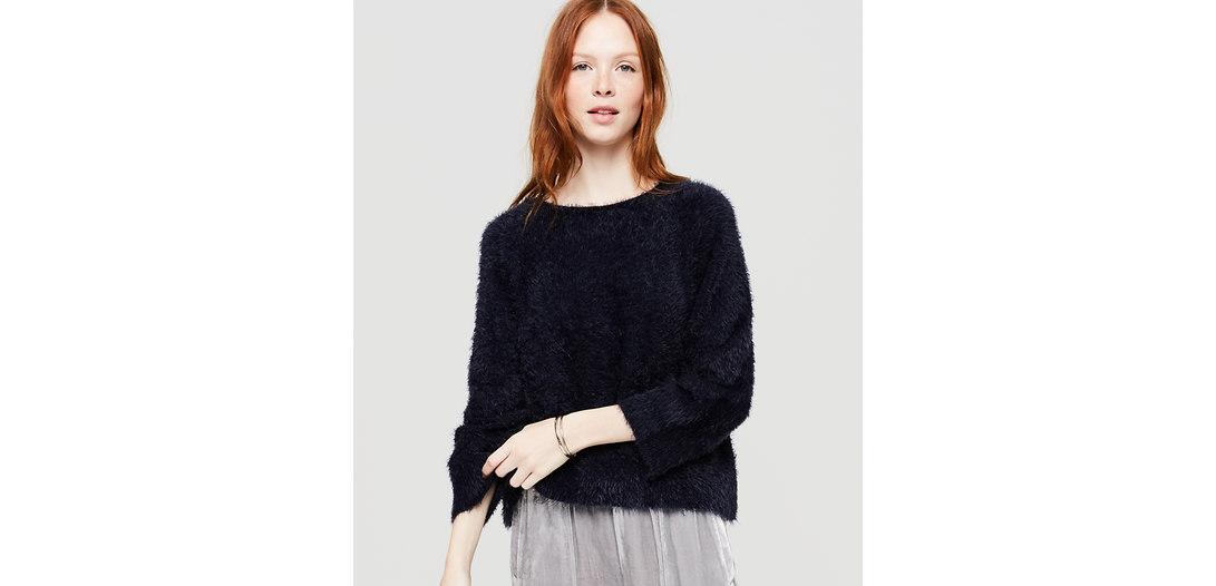 LOFT Lou & Grey Eyelash Sweater