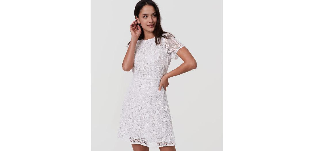 LOFT Camellia Lace Dress