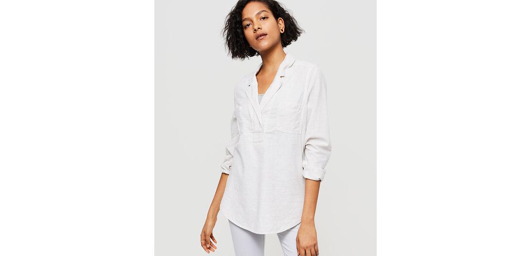 LOFT Lou & Grey Flannel Palette Shirt