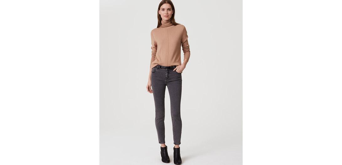 LOFT Tall Sateen Five Pocket Leggings